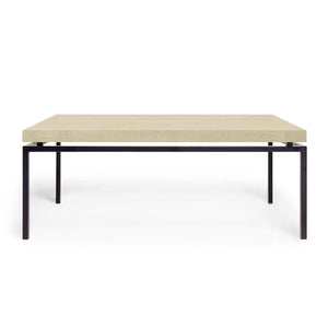 made goods benjamin coffee table black and ivory