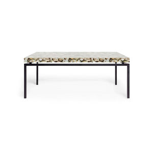 made goods benjamin coffee table black and mother of pearl