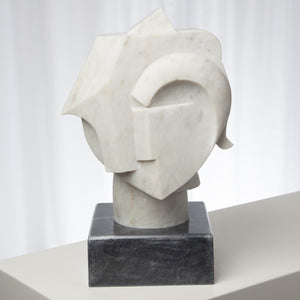 global views abstract bust back