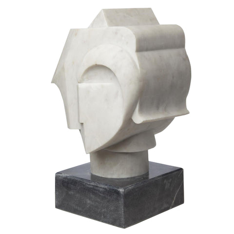 global views abstract bust