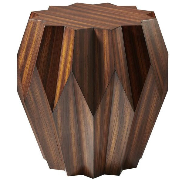 Global Views Origami End Table Clayton Gray Home