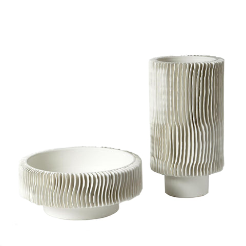 global views radiator vases matte white