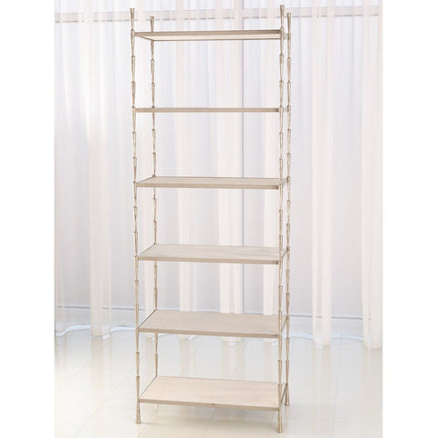 global views spike etagere nickel