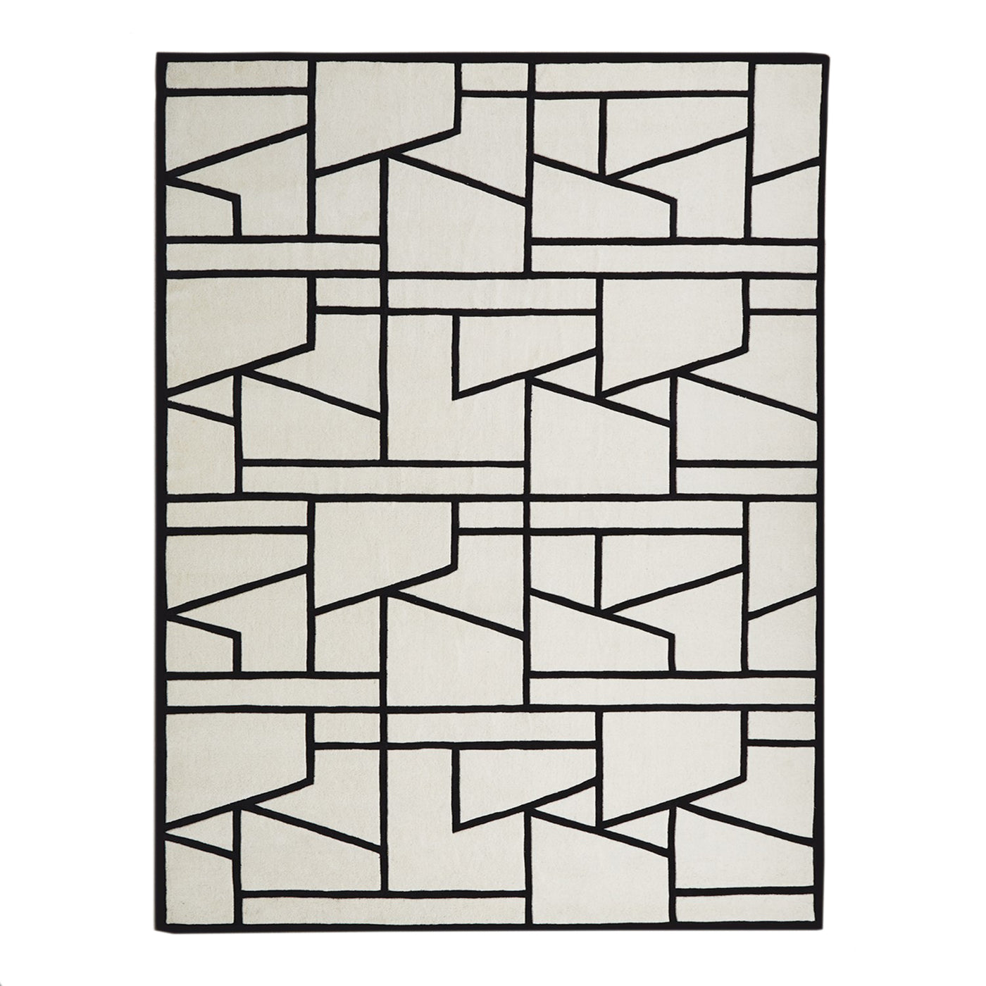 global views zig zag rug MC-9.90007, MC-9.90006, MC-9.90005, MC-9.90004, black, ivory, geometric rug, rug