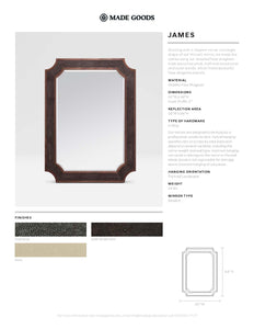 made goods james mirror tearsheet