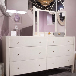 made goods sorin dresser drawers pristine white showoom