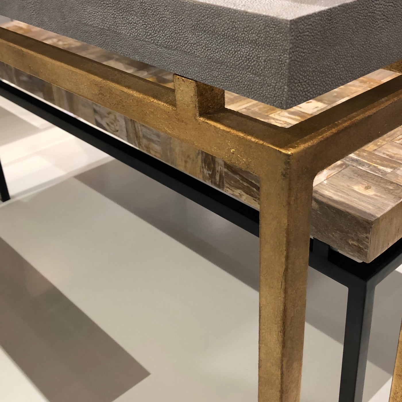 Benjamin Console Table Gold