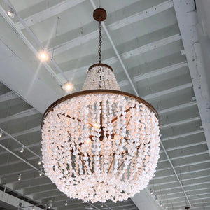 Silvana Chandelier Brass