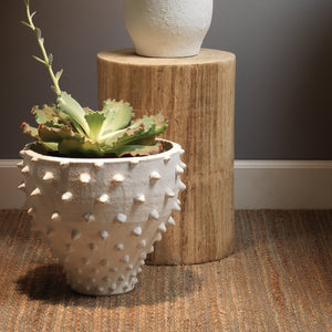 jamie young agave side table styled