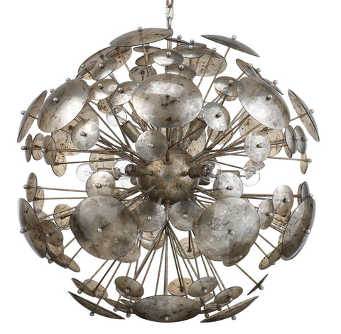 jamie young constellation round chandelier