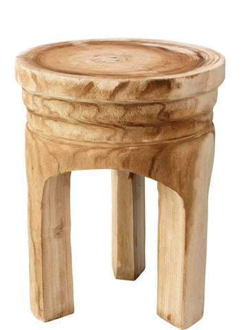 jamie young mesa wooden side table