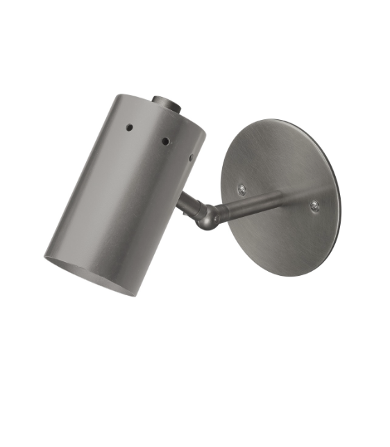 Jamie Young Milano Sconce Silver Gun Metal Antique Lighting