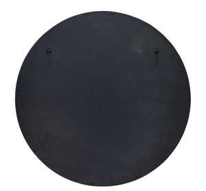 jamie young organic round mirror back