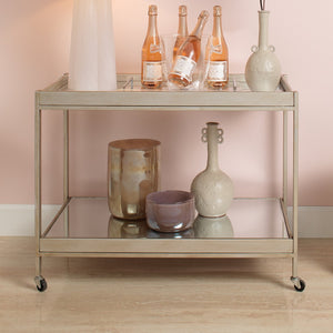jamie young stella bar cart lifestyle image 2