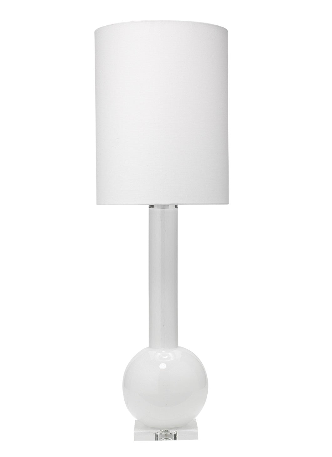 jamie young studio table lamp white