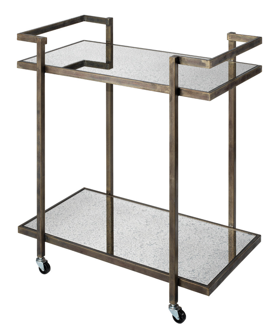 jamie young tanner bar cart