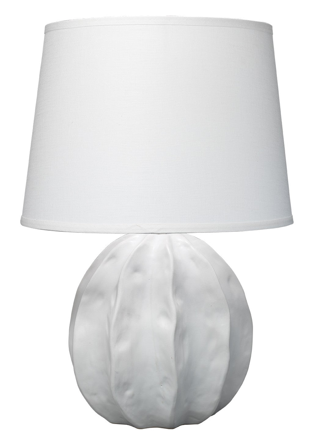 jamie young urchin table lamp white