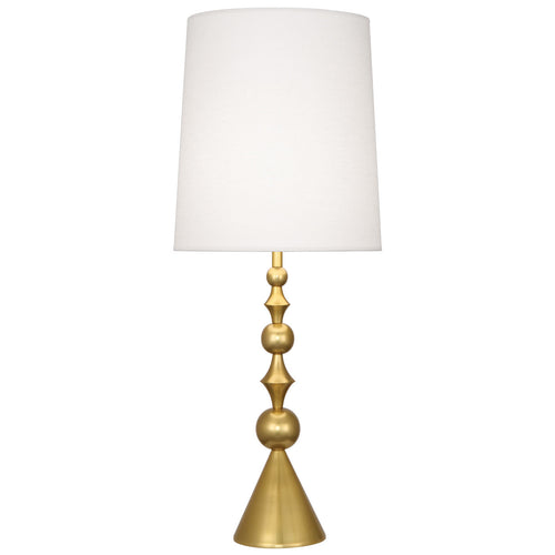 jonathan adler harlequin table lamp brass