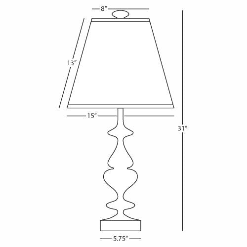 jonathan adler hollywood table lamp brass diagram