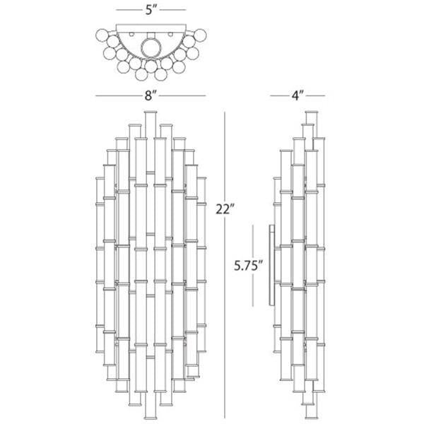 jonathan adler meurice two light wall sconce diagram