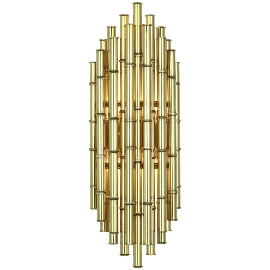 Jonathan Adler Meurice Two Light Wall Sconce Modern Brass