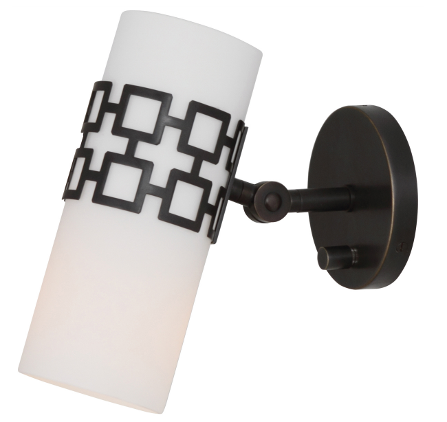 Jonathan Adler Parker Wall Sconce Patina Bronze Lighting