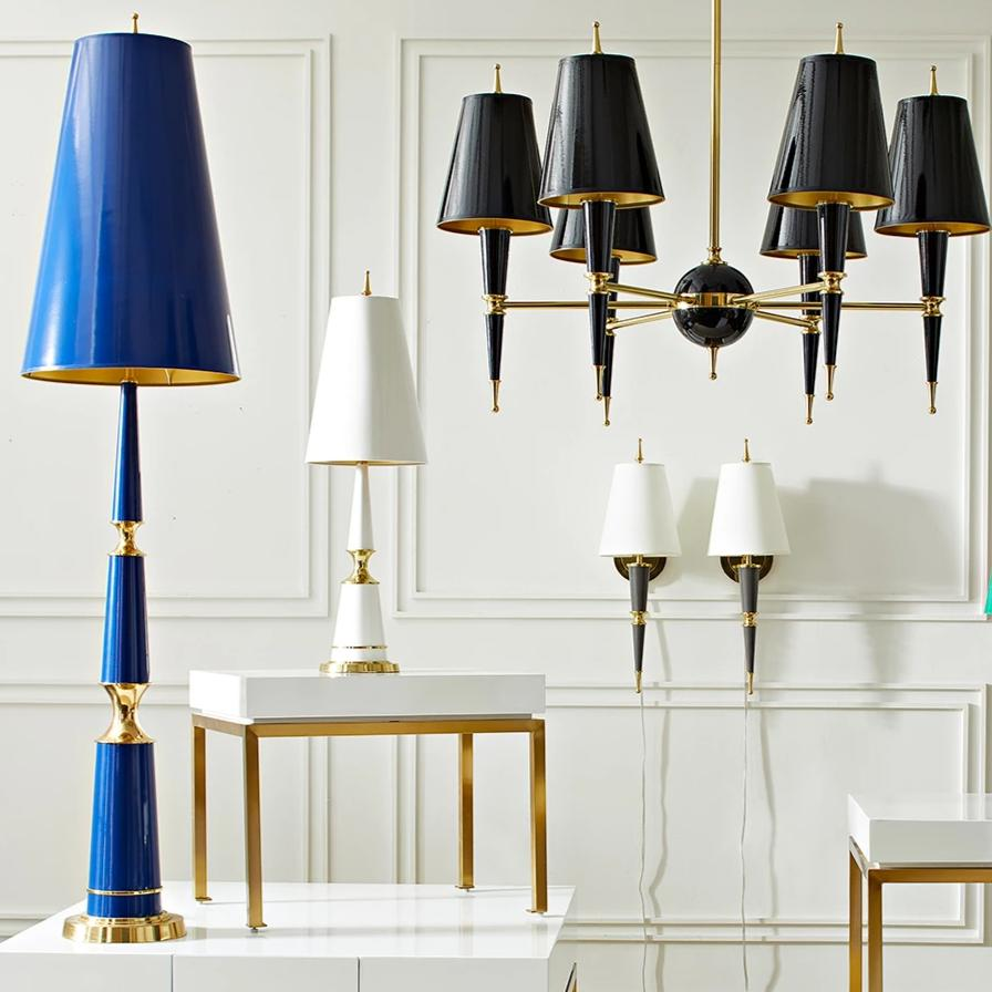 Lighting Lamp: Jonathan Adler Versailles Table Lamp White