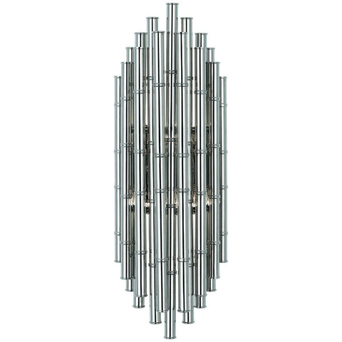 jonathan adler meurice two light wall sconce polished nickel