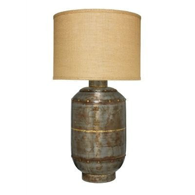 Jamie Young Caisson Table Metal Lamp