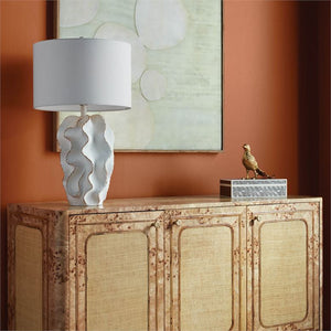 Bethany Lamp White with Gold