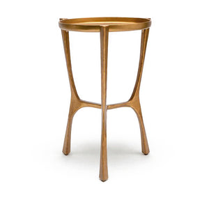 made goods addison side table aged brass