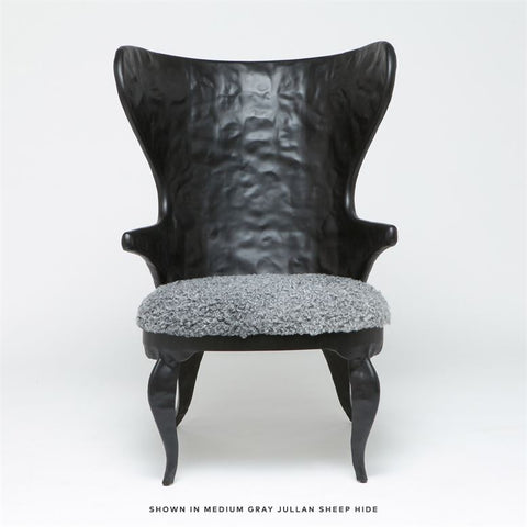 made goods alfred upholstered chair black front