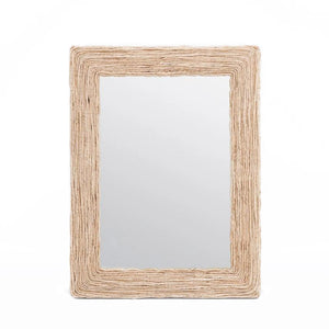 made goods amani mirror organic rope rectangular mirror modern mirrors big mirrors large mirrors