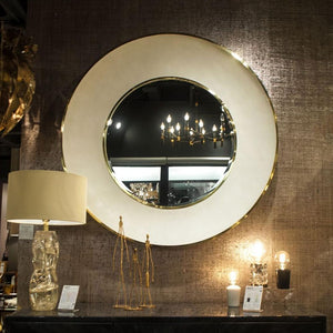 made goods armond mirror brass room view