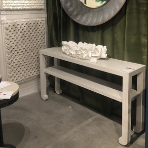 made goods askel console French gray shelf market