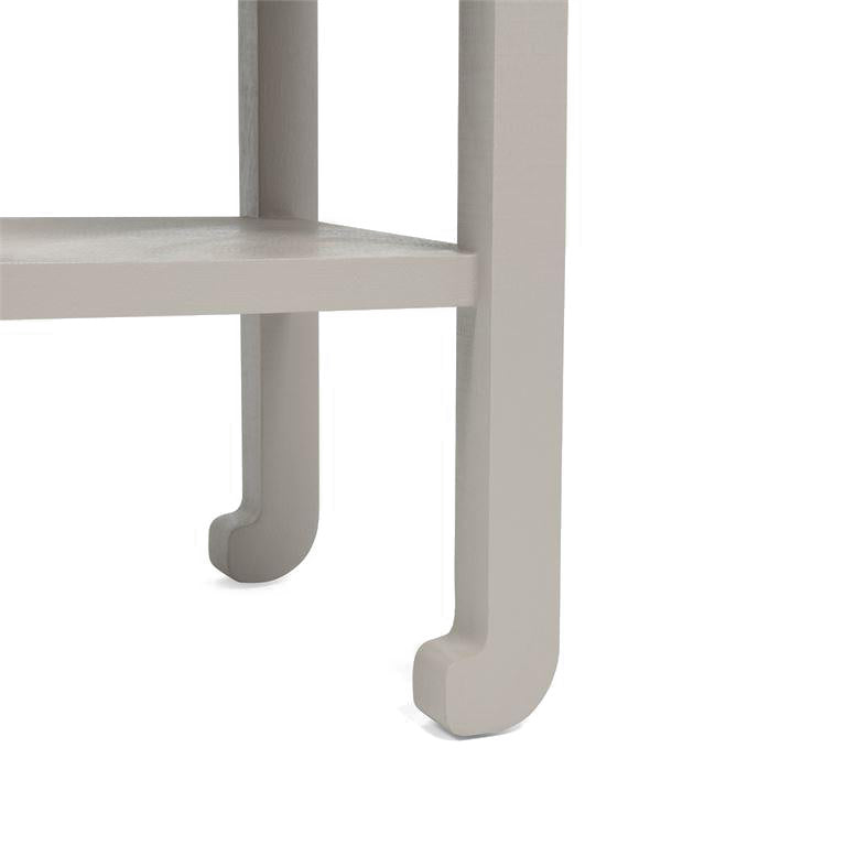 made goods askel side table french grey legs