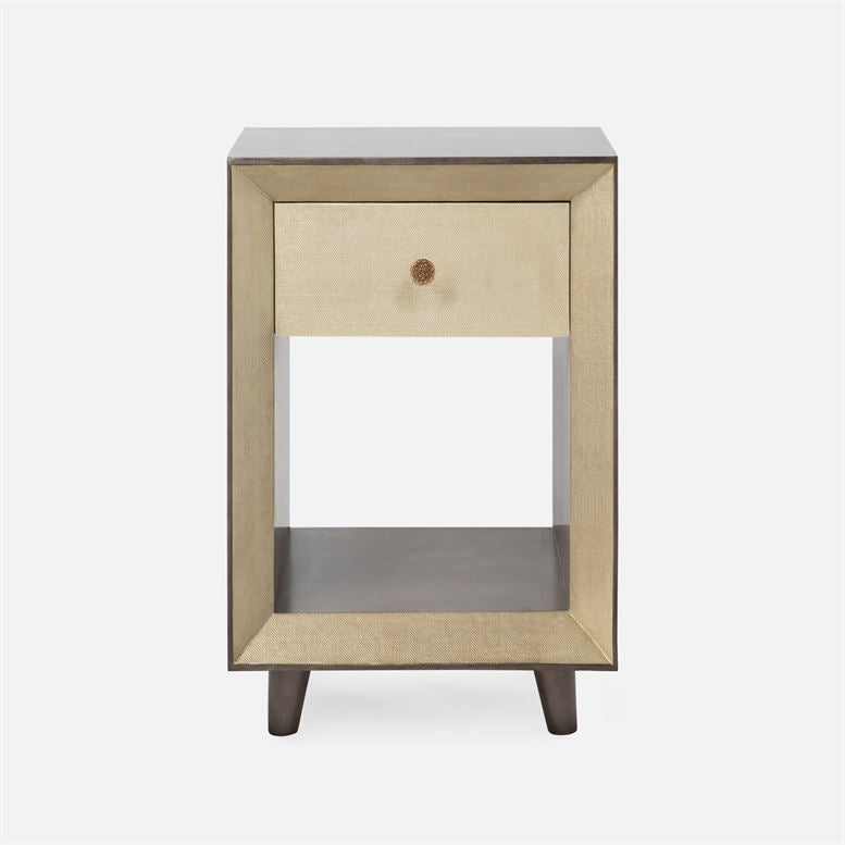 made goods blaine nightstand single champagne front