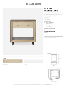 made goods blaine nightstand single champagne tearsheet