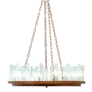 made goods brando chandelier hanging light fixture lighting metal hanging light