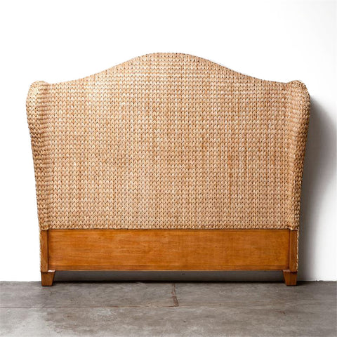 made goods briana headboard natural seagrass woven