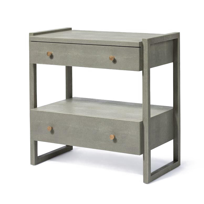 made goods carrigan double nightstand castor grey angle