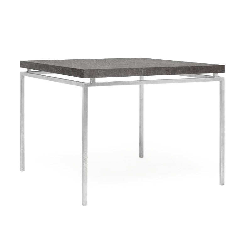 Made Goods Benjamin Game Table Silver