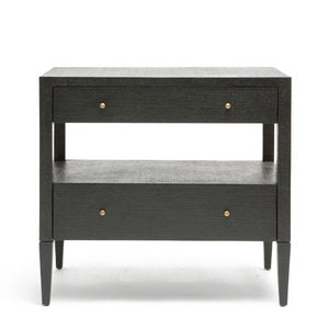 Made Goods Conrad Double Nightstand Black