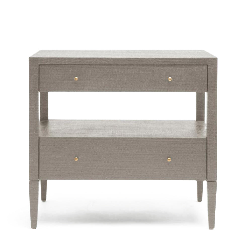 Made Goods Conrad Low Double Nightstand Seal