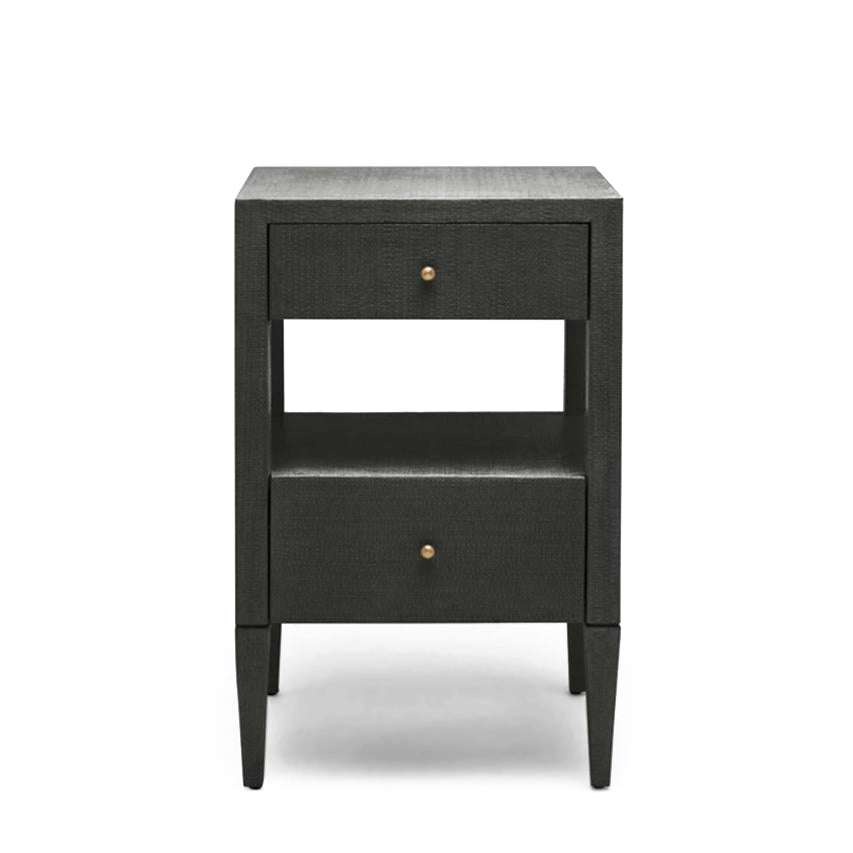 Made Goods Conrad Low Single Nightstand Black
