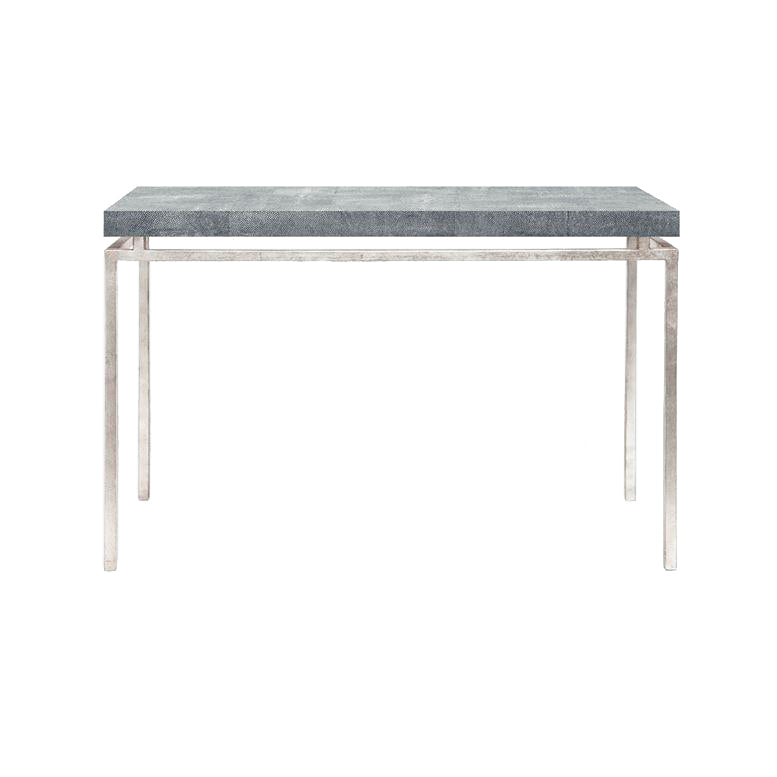 Made Goods Benjamin Console Table Silver