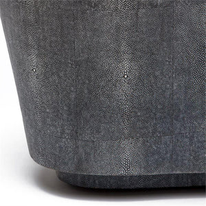made goods Corbin coffee table gray shagreen close up