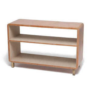 made goods Dante bookcase aged camel