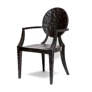 made goods Daphne chair black side view