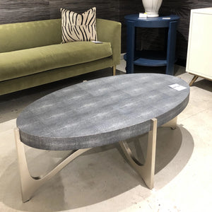 made goods dexter coffee table silver and cool gray showroom